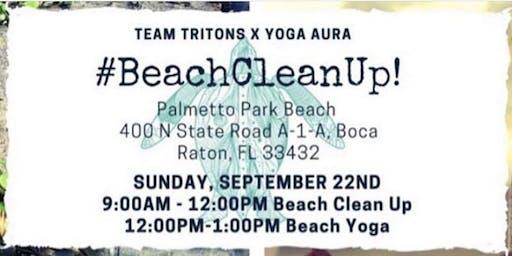 FREE YOGA BEACH CLEAN UP