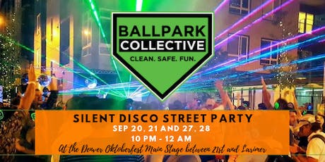Silent Disco Street Party at Denver Oktoberfest | Sat Sep 28th tickets