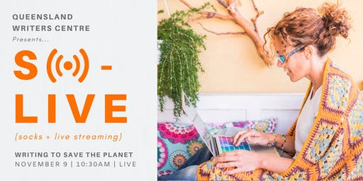 LIVE STREAM: Writing To Save The Planet with Jessica White and Amanda Niehaus