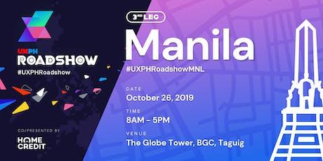UXPH National Roadshow 2019: Manila tickets