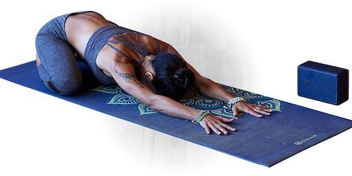 Women Embracing Yoga Series