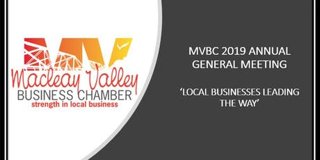 Macleay Valley Business Chamber - 2019 AGM tickets