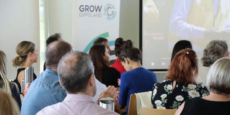GROW Gippsland Employer Working Group tickets
