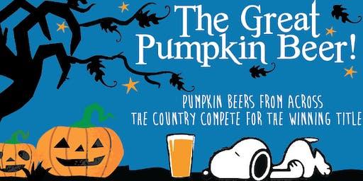 4th Annual Great Pumpkin Beer Tasting