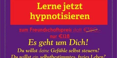 Lerne jetzt hypnotiesieren, weil wer hypnotiesieren kann, weiß auch w...... Tickets