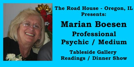 Marian Boesen - Professional Psychic Medium Gallery Reading tickets