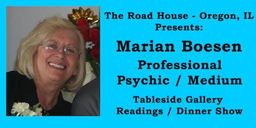 Marian Boesen - Professional Psychic Medium Gallery Reading