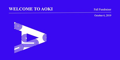 Welcome to AOKI - Fundraiser 2019 tickets