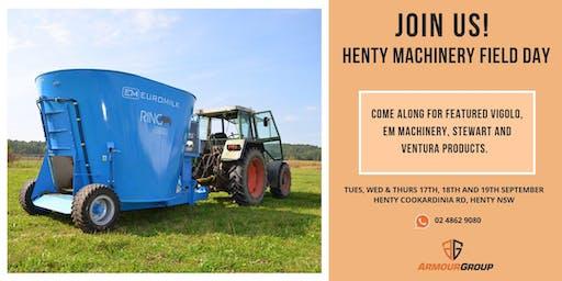Henty | Machinery Field Days Henty NSW 2019