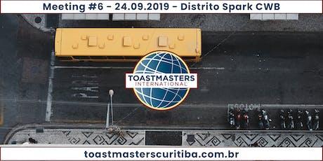 Comunicação e Oratória - Toastmasters Curitiba - M06Y19 ingressos