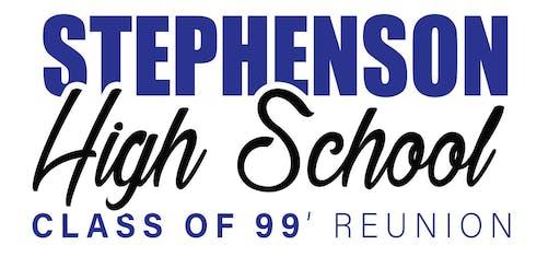 SHS Class of 1999's #StillReady 20-Year Reunion Class Shirt