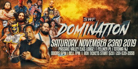 SWF Totowa NJ  Featuring Ron Simmons tickets