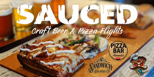 SAUCED - Craft Beer & Pizza Flights