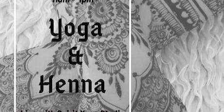 Yoga & Henna  tickets