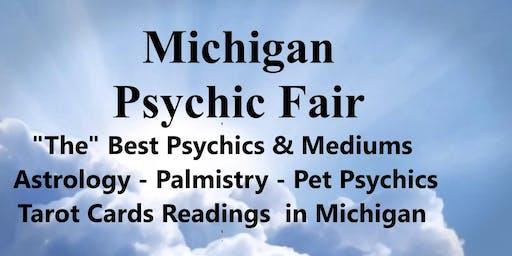 Michign Psychic Fair Waterford September 15, 2019 Holiday Inn Express