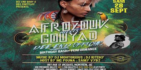 AfroZouk meets Gouyad tickets
