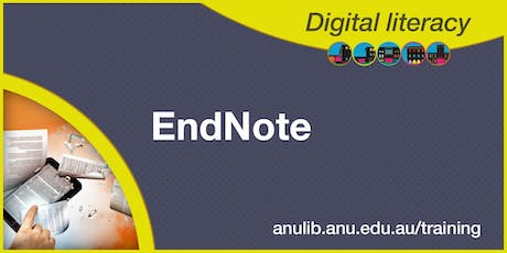 EndNote X9 in an Hour Webinar for Windows tickets