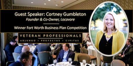 Breakfast with Guest Speaker Award Winning Entrepreneur - Cortney Gumbleton tickets