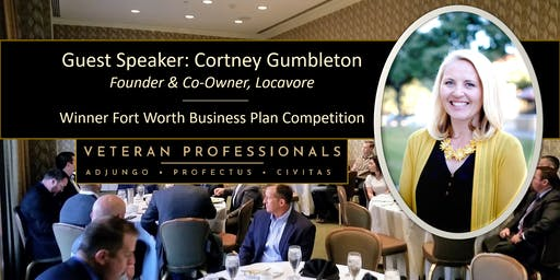 Breakfast with Guest Speaker Award Winning Entrepreneur - Cortney Gumbleton
