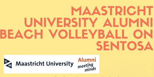 Maastricht University Alumni Beach Volleyball on Sentosa