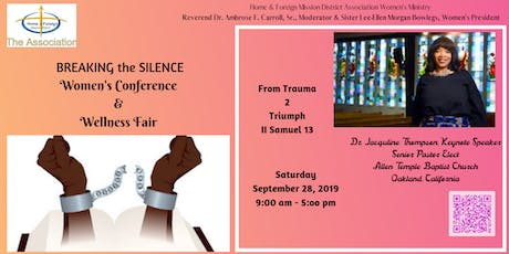 Women's Conference & Wellness Fair From Trauma 2 Triumph tickets