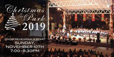 Christmas in the Park Choir 2019