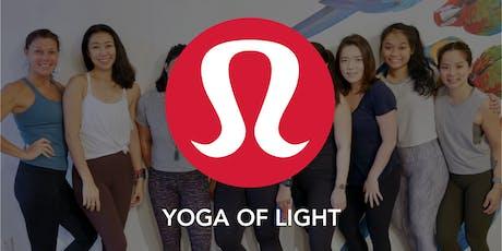 Yoga of Light @ lululemon tickets