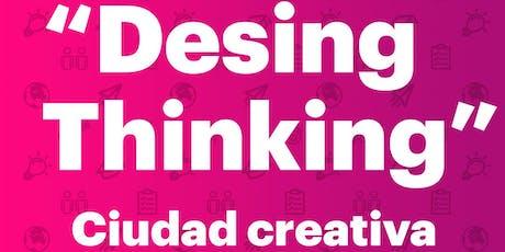 """Conferencia """"Design Thinking"""" entradas"""