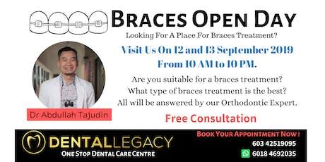 Braces Open Day by Dental Legacy tickets
