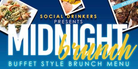 SOCIAL DRINKERS MIDNIGHT BRUNCH - SEPT 28 - RED ROCKS tickets
