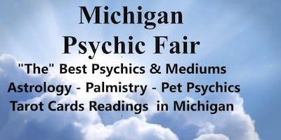 Michigan Psychic Fair Waterford Sept 15, 2019 Holiday Inn Ex