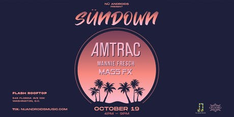 SünDown: Amtrac at Flash Rooftop tickets