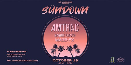SünDown: Amtrac at Flash Rooftop