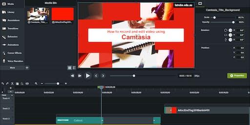 Using Camtasia to record and edit video (Bendigo)