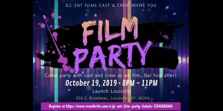 G.I. ENT FILM PARTY tickets
