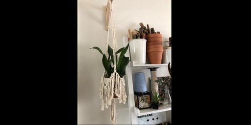 Macrame Plant Hanger Work Shop- Makers Quarter