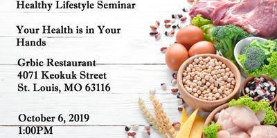 "Healthy Lifestyle Seminar: ""Your Health is in Your Hands"" by My Nutriality"