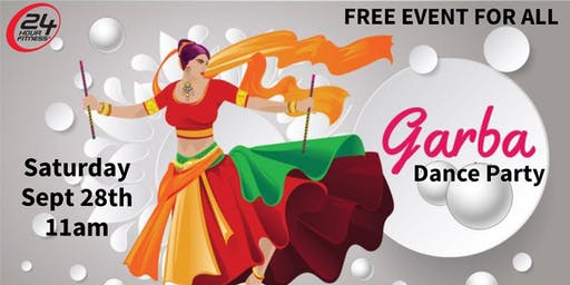 Free Garba/Dandiya Raas Dance Workshop Party - Jersey City