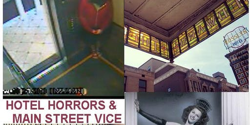 Esotouric's Hotel Horrors & Main Street Vice downtown L.A. true crime tour