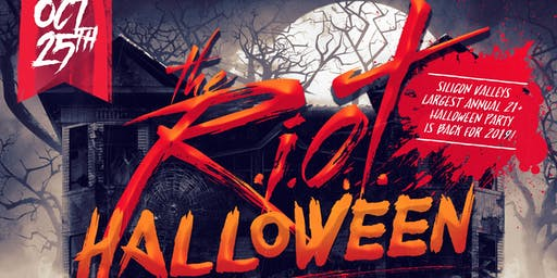 RIOT HALLOWEEN 2019 | FRIDAY OCT 25TH | PURE NIGHTCLUB | 1000+PPL