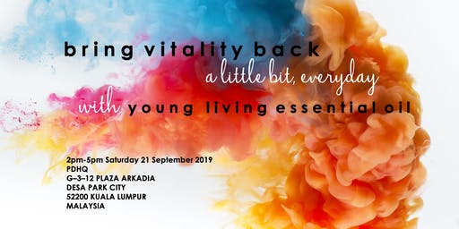Bring Vitality Back with Young Living Essential Oil