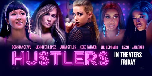 "WBOP MOVIE NIGHT ""HUSTLERS"" $7 DOLLAR TUESDAYS!"