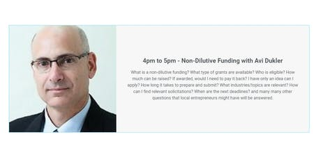 How to Utilize Non-Dilutive Funding with Avi Dukler tickets
