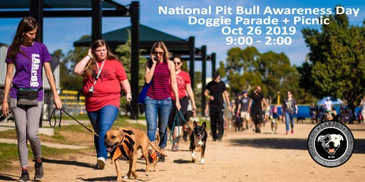 National Pit Bull Awareness Day Doggie Parade + Picnic