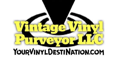 Vintage Vinyl Purveyor at Route 66 Record Show