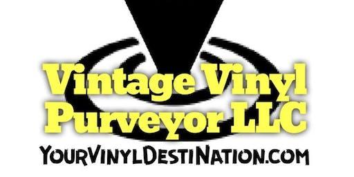 Vintage Vinyl Purveyor at Route 66 Record Show