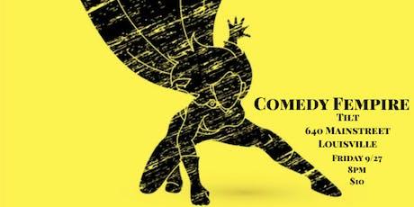 Comedy Fempire tickets