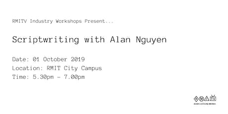 Scriptwriting with Alan Nguyen tickets