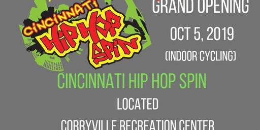 Cincinnati Hip Hop Spin grand opening Corryville Recreation Center