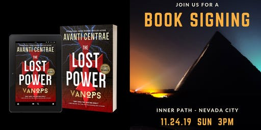 VanOps Book Signing at Inner Path Nevada City